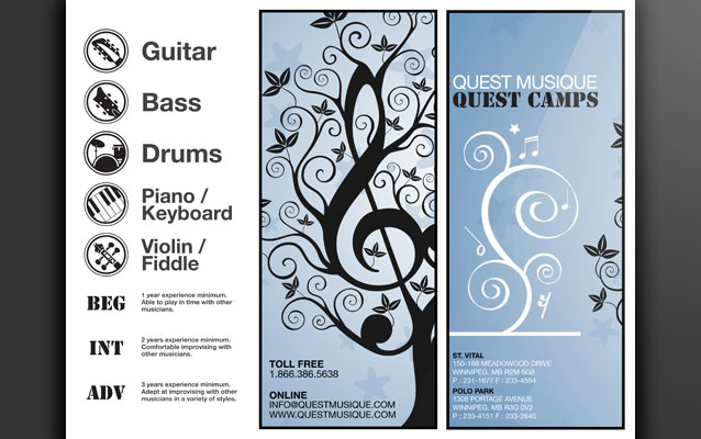 Shedbot  Project Summary  Quest Musique Music Camps Brochure